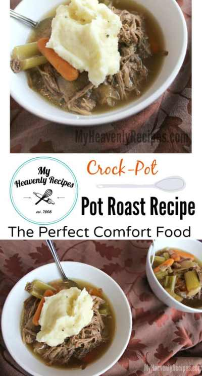 Crock-Pot Pot Roast Recipe - My Heavenly Recipes
