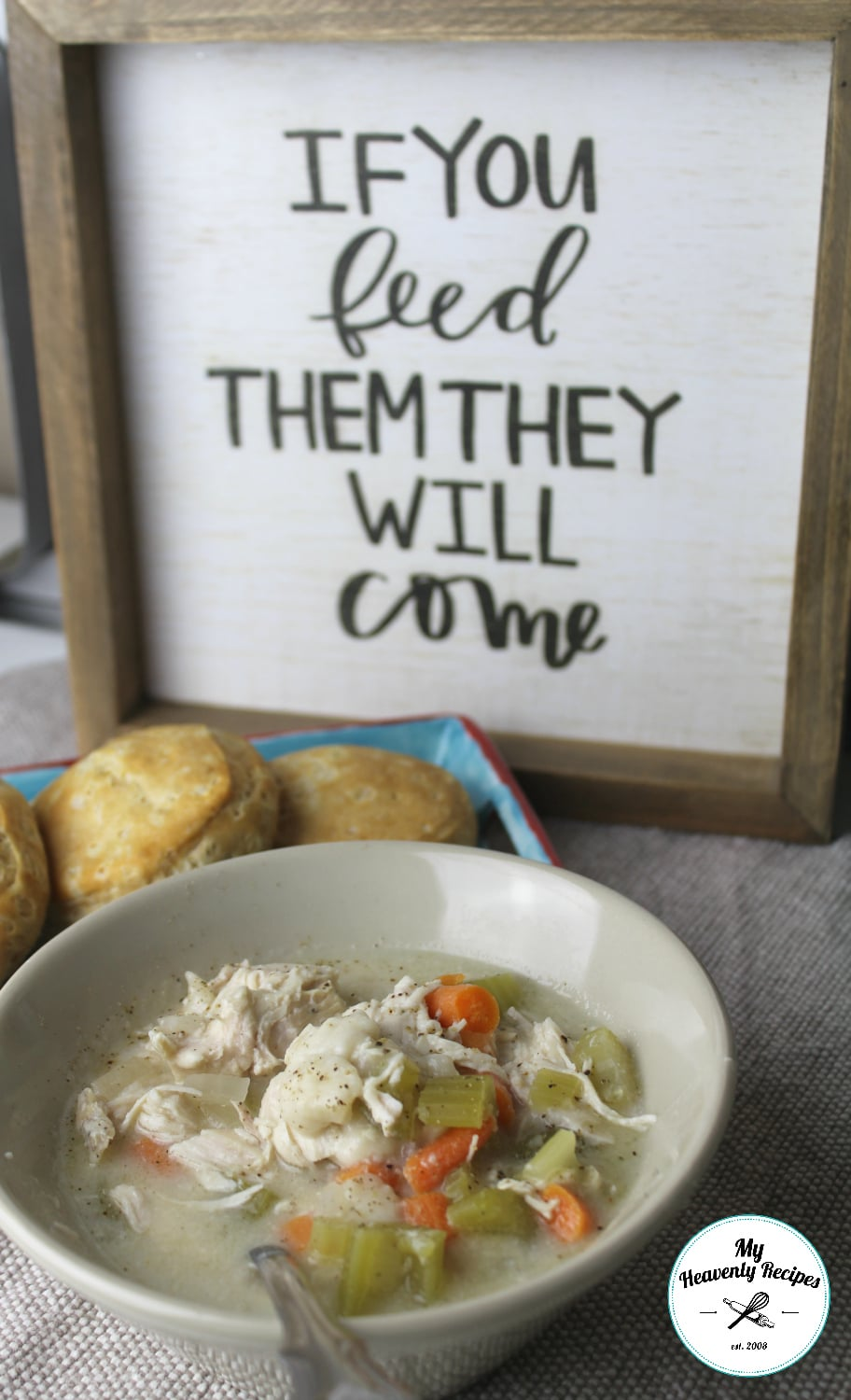 Gift Ideas For Foodies Chicken And Dumplings In The Crock Pot + Video - My