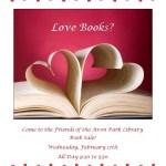 friends book sale feb16