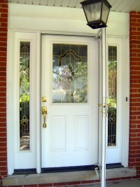 Painting the front door | Home Baked
