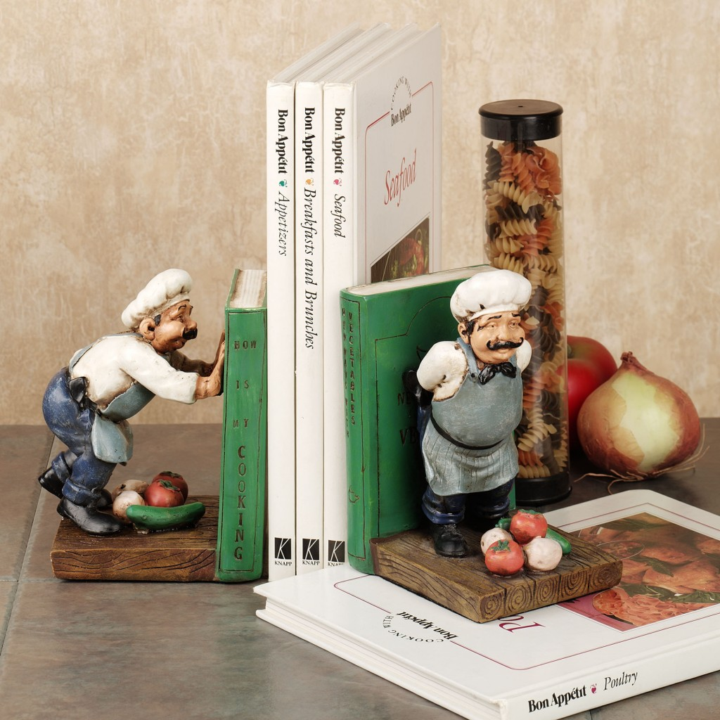 Kitchen Bookends 13 Heartbreaking Bookends For Cookbooks In Kitchens Mom