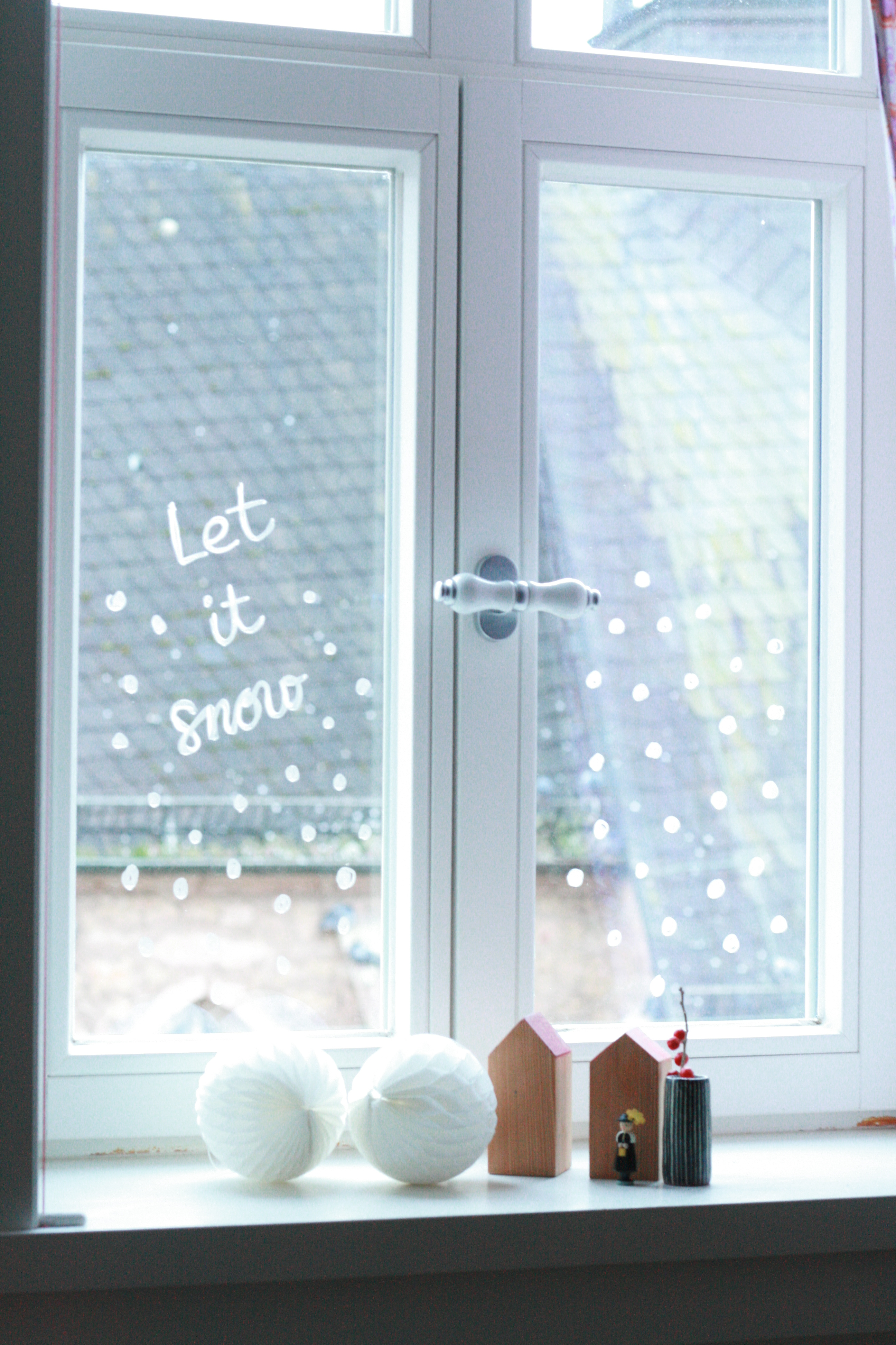 Fenster Malen Let It Snow! | My Home Is My Horst