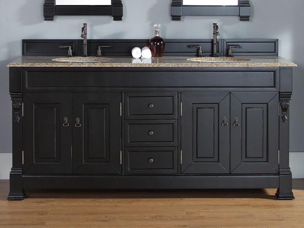 Dark Black Bathroom Vanities Finding The Best A