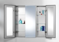 Bathroom Medicine Cabinets  With Lights, Recessed, Mirrored