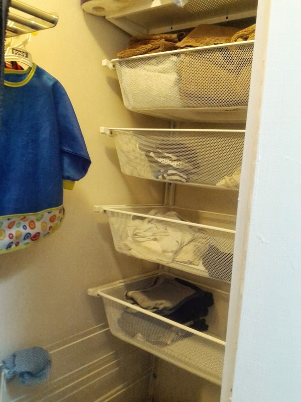 Algot Laundry Ikea Algot System - The Renovation Makeover