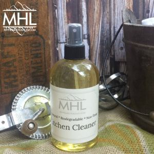 All Natural, Handcrafted organically Made Kitchen Cleaner