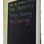 My Framed Magnetic Chalkboard Project