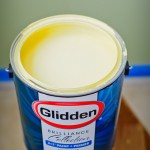 Preparing for My Glidden Brilliance Paint Challenge #GliddenGallons
