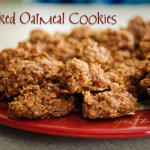 Unbaked Oatmeal Cookies (a.k.a. Blobs)