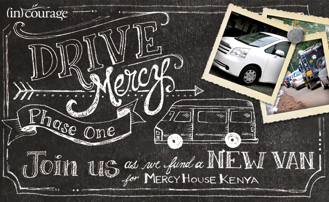 Mercy House Van Drive