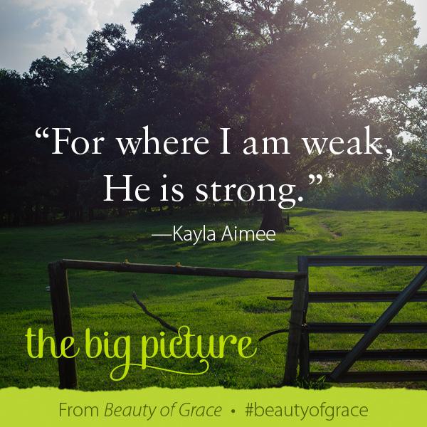Kayla Aimee The Beauty of Grace #beautyofgrace