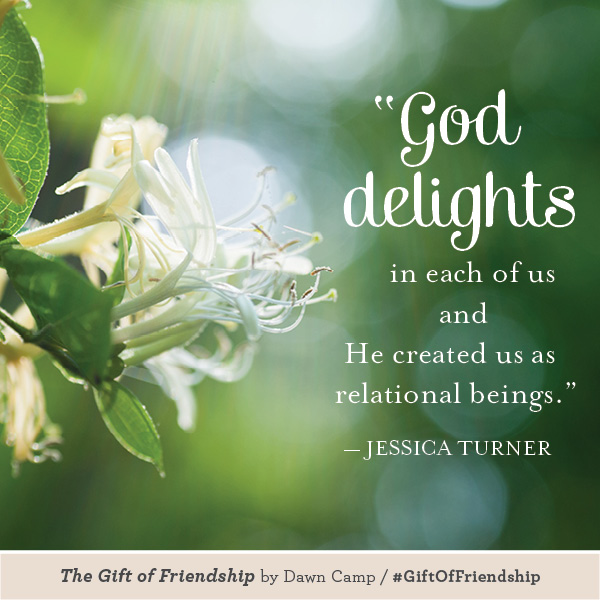 Jessica Turner The Gift of Friendship #GiftofFriendship