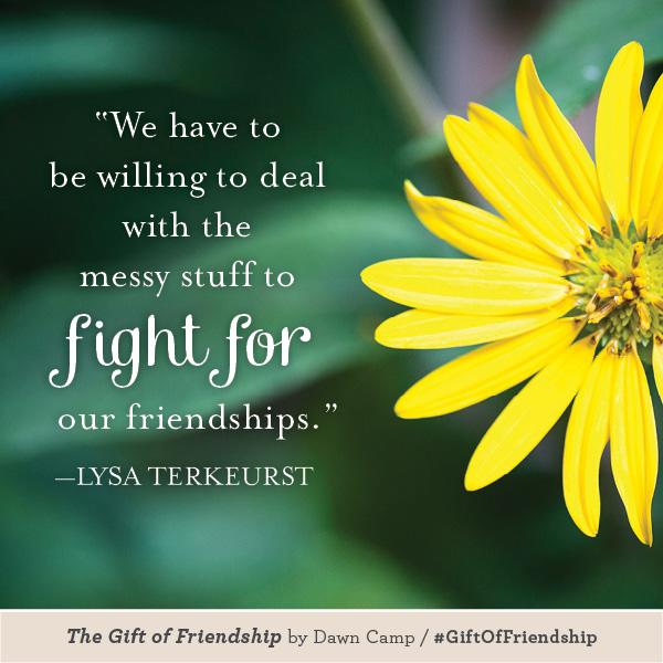 Lysa TerKeurst The Gift of Friendship #GiftofFriendship