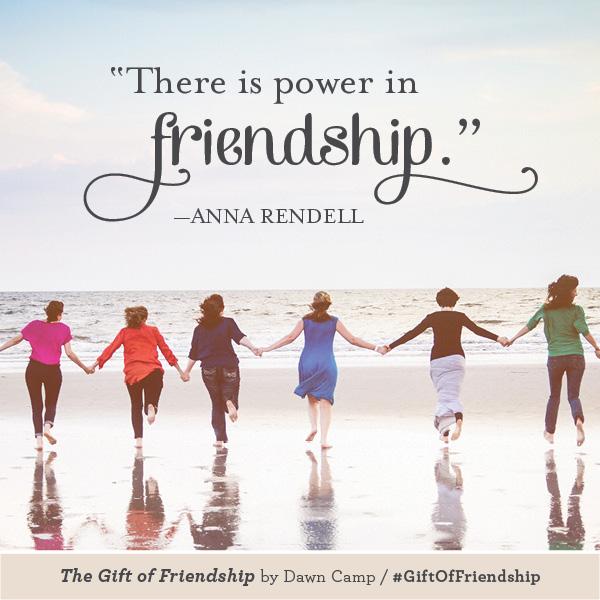 Anna Rendell The Gift of Friendship #GiftofFriendship
