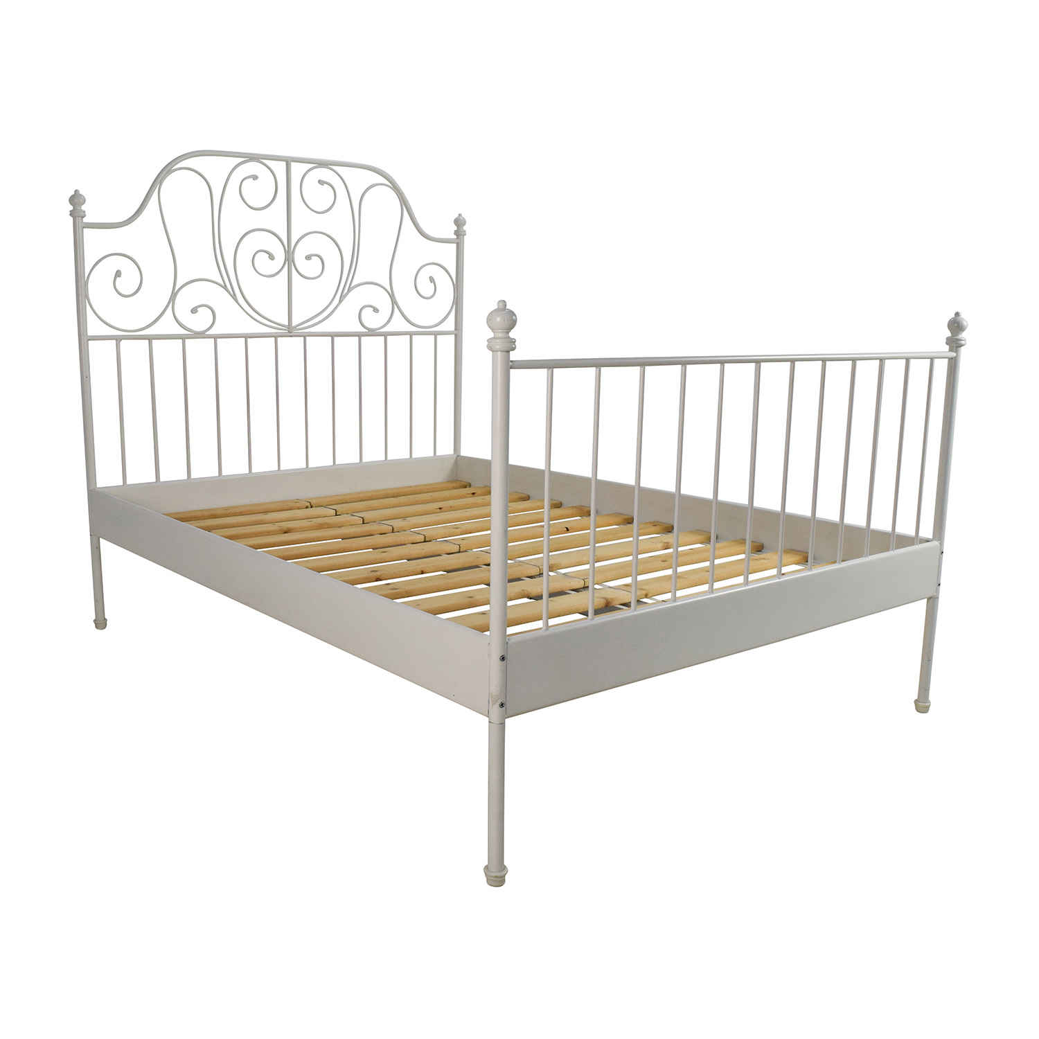 Bed Frame Ikea Leirvik Bed Frame Review Ikea Bedroom Product Reviews