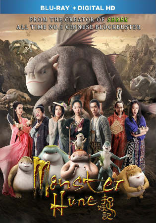 Monster Hunt 2015 BRRip 900MB Hindi Dual Audio 720p Watch Online Full Movie Download Worldfree4u 9xmovies