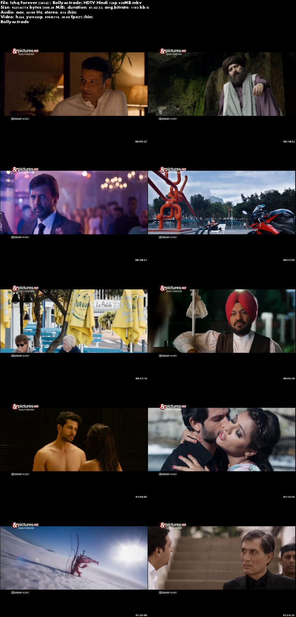 Ishq Forever 2016 HDTV 300Mb Full Hindi Movie Download 480p