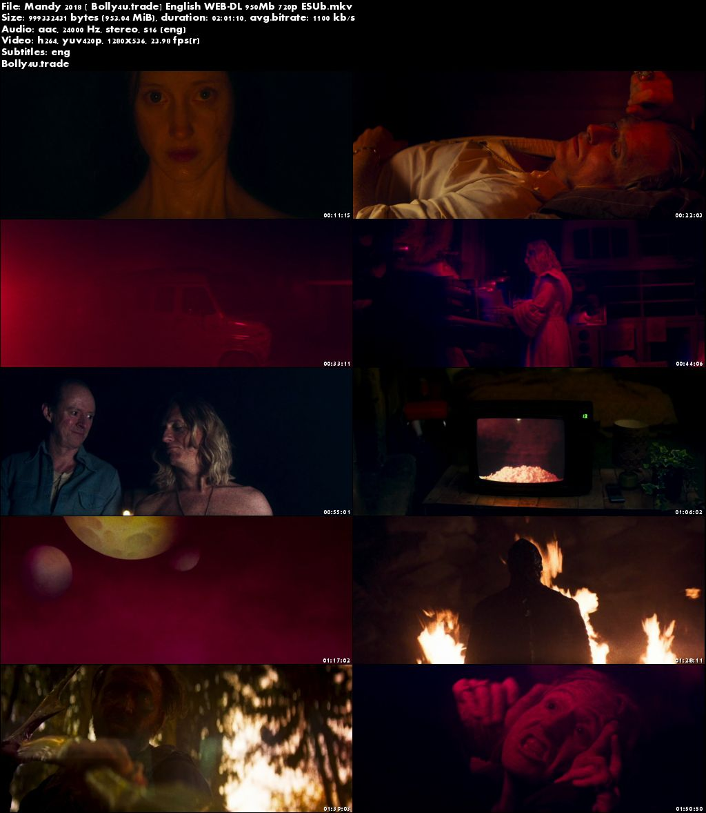 Mandy 2018 WEB-DL 350Mb Full English Movie Download 480p ESub