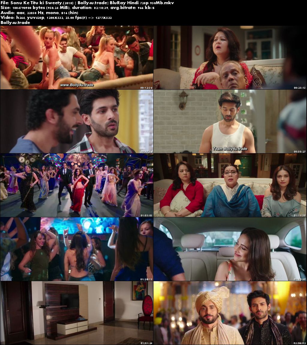 Sonu Ke Titu ki Sweety 2018 BluRay 400Mb Full Hindi Movie Download 480p
