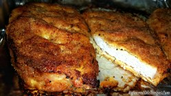 Small Of Baked Parmesan Crusted Chicken