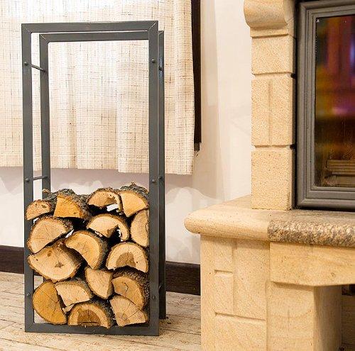 Arredare con le cataste di legna architettura e design a - Portalegna ikea ...