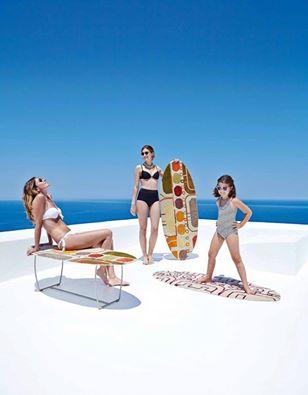 design nuova collezione GAN-rugs ideata da Alejandra Gandìa-Blasco. tappeti di lana a forma di tavola da surf