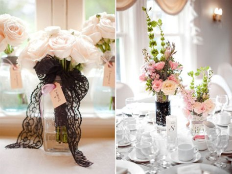 matrimonio black-lace-decor