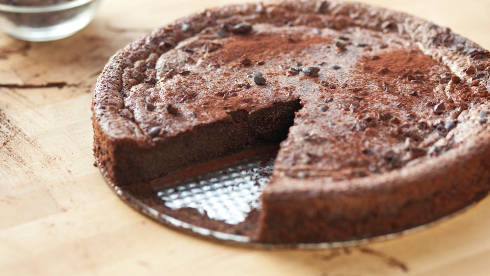 Cocos Kuchen Flourless Chocolate Cake