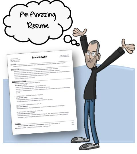 Secrets to an Amazing Resume \u2013 The Steve Jobs Way myJoblinx blog