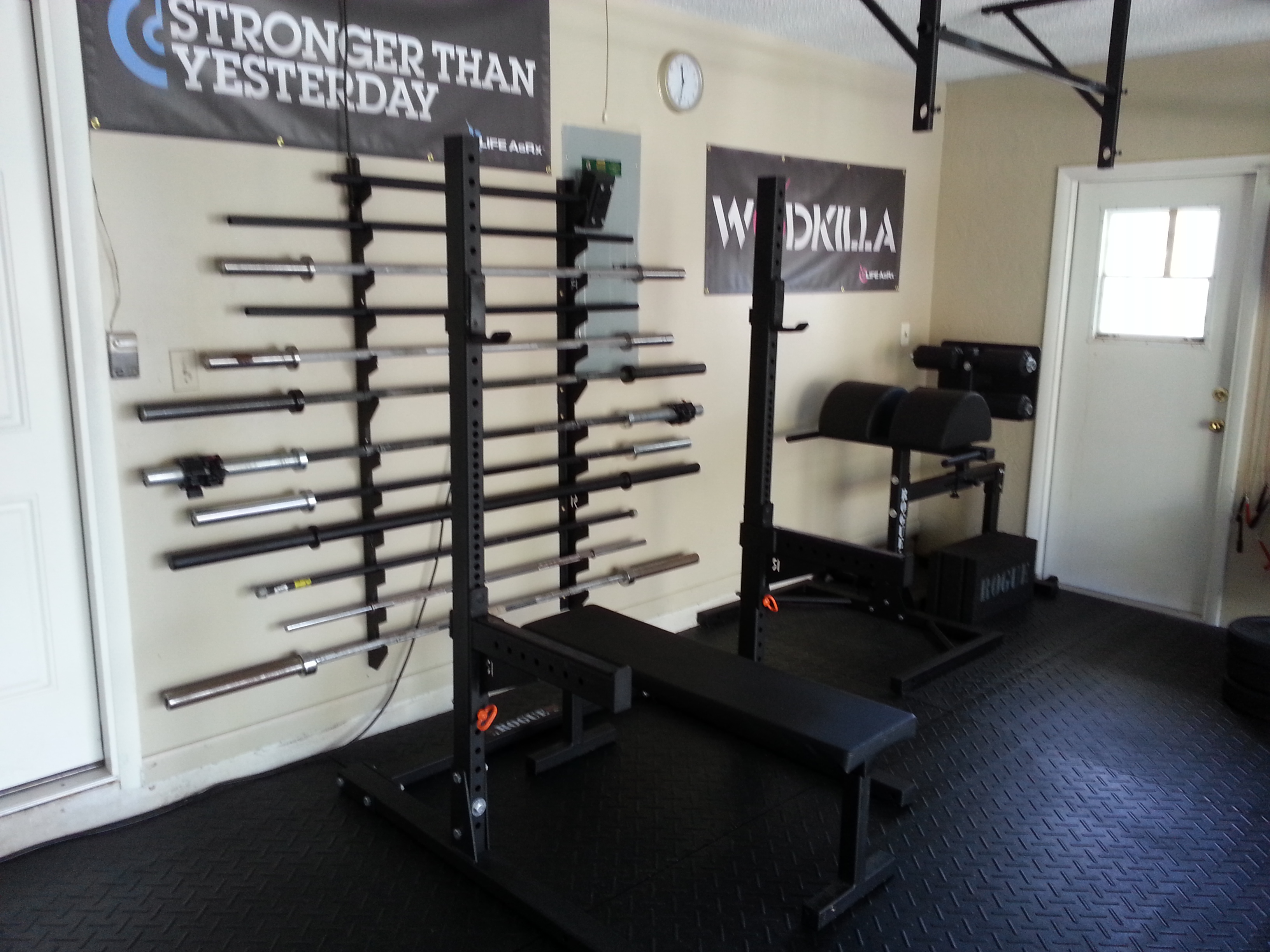 Garage Gym Reviews Diy Platform How To Build An Epic Garage Gym My Journey Rx