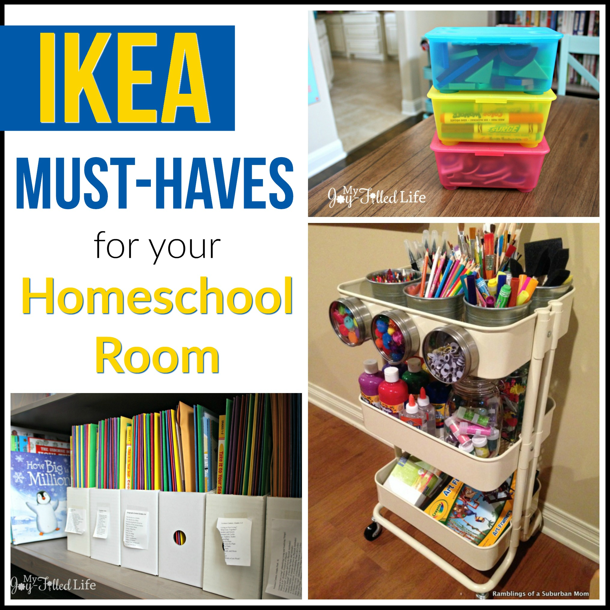 Trofast Montessori Ikea Must Haves For Your Homeschool Room My Joy Filled Life