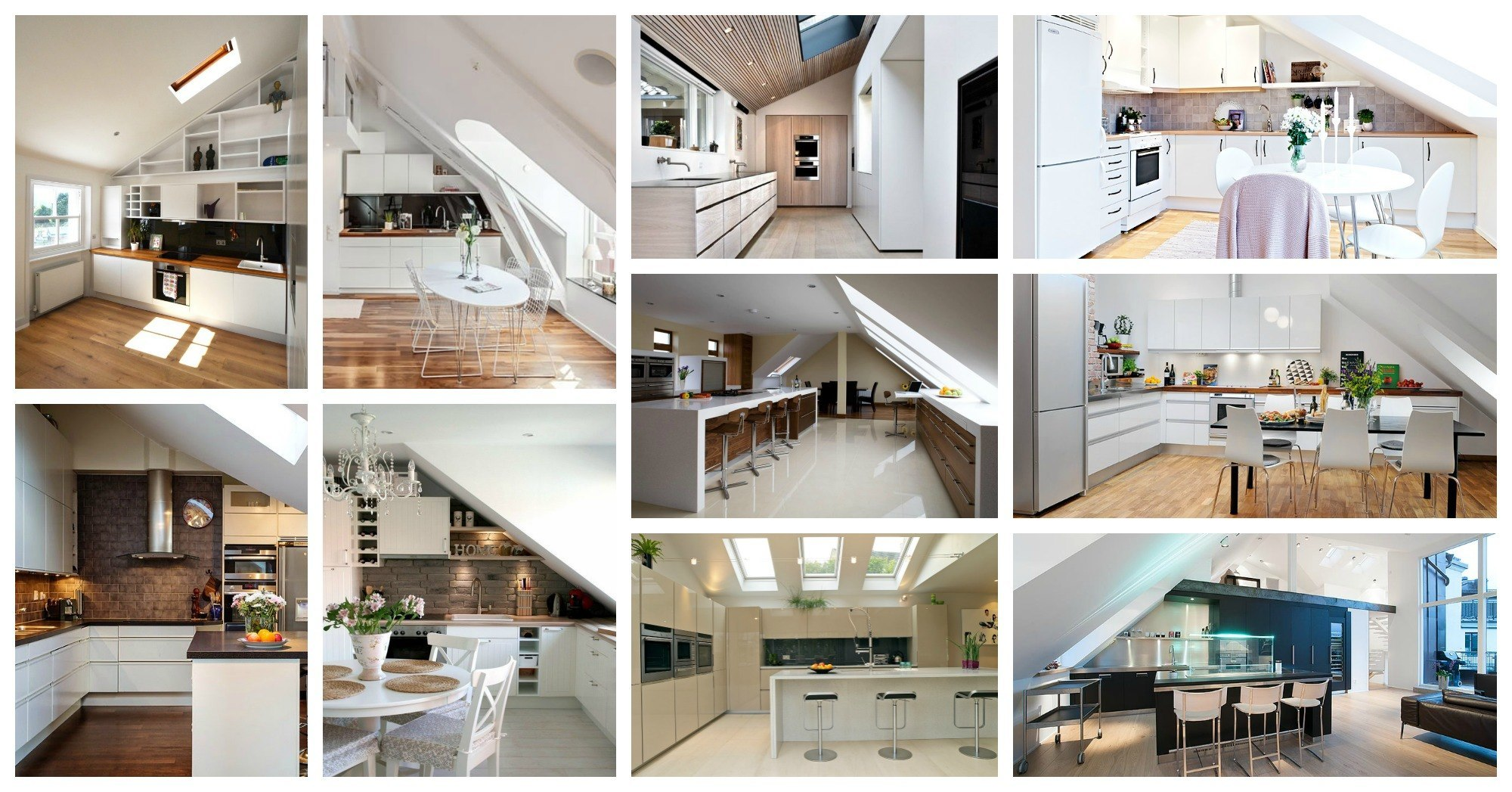 Designs Of Kitchens In Interior Designing Absolutely Stunning Attic Kitchens That Will Take Your