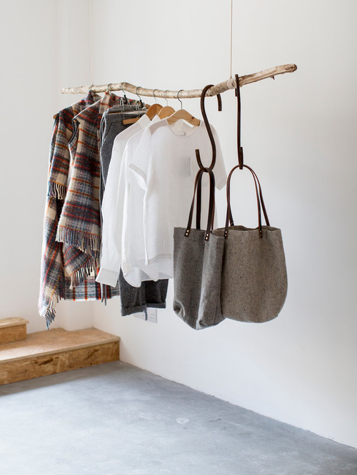 Garderobe Room Design Diy Branch Clothes Rack Is The Best Idea For Your Closet