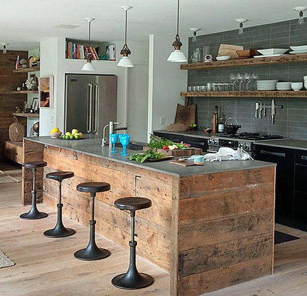 Ikea Einbauküche Landhausstil Two Ways To Create Rustic Kitchen Island - My Kitchen