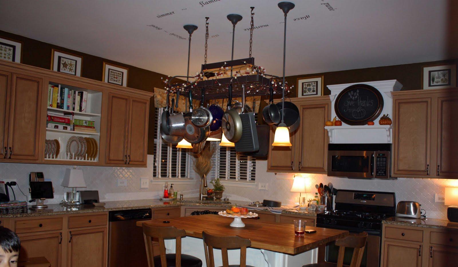 ideas kitchen cabinets utilizing space pots special place kitchen diy kitchen