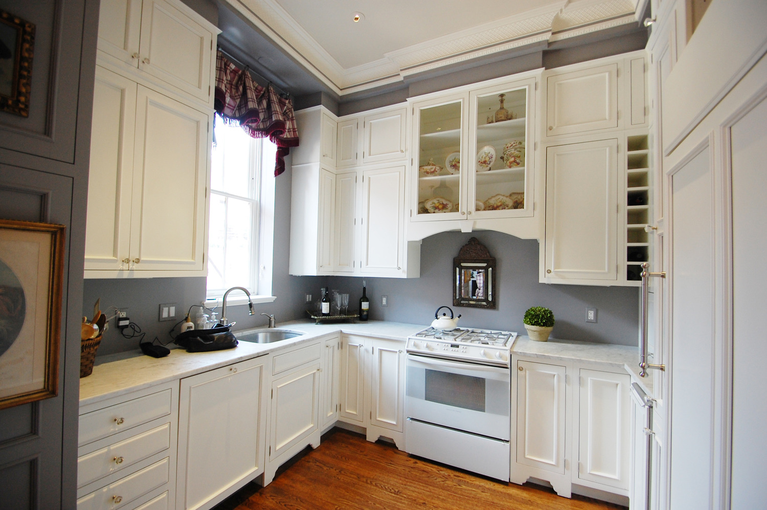 Grey Kitchen Paint Exquisite Grey Walls Kitchen The Color Effect