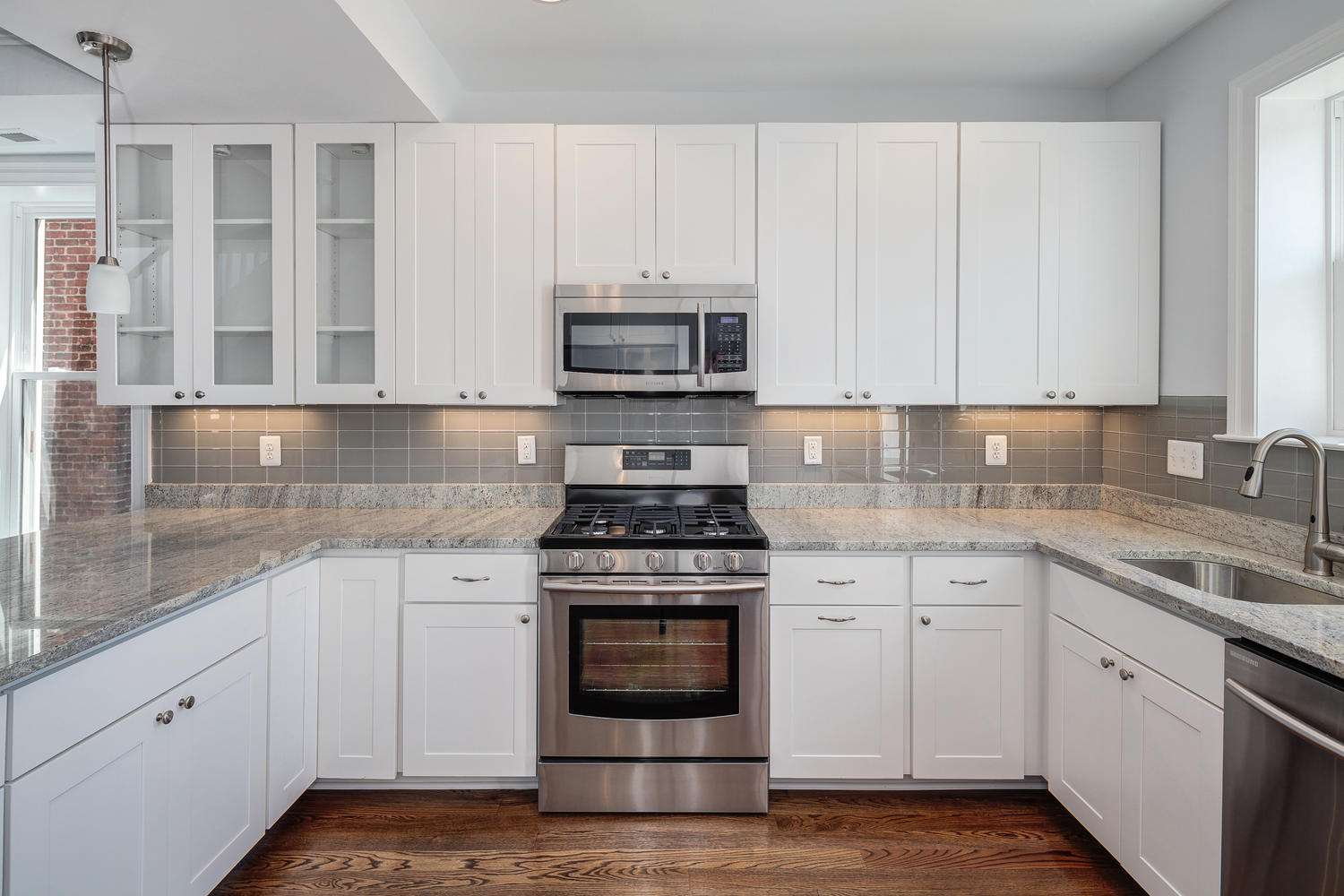 White Kitchen Wall Cabinets Exquisite Grey Walls Kitchen The Color Effect