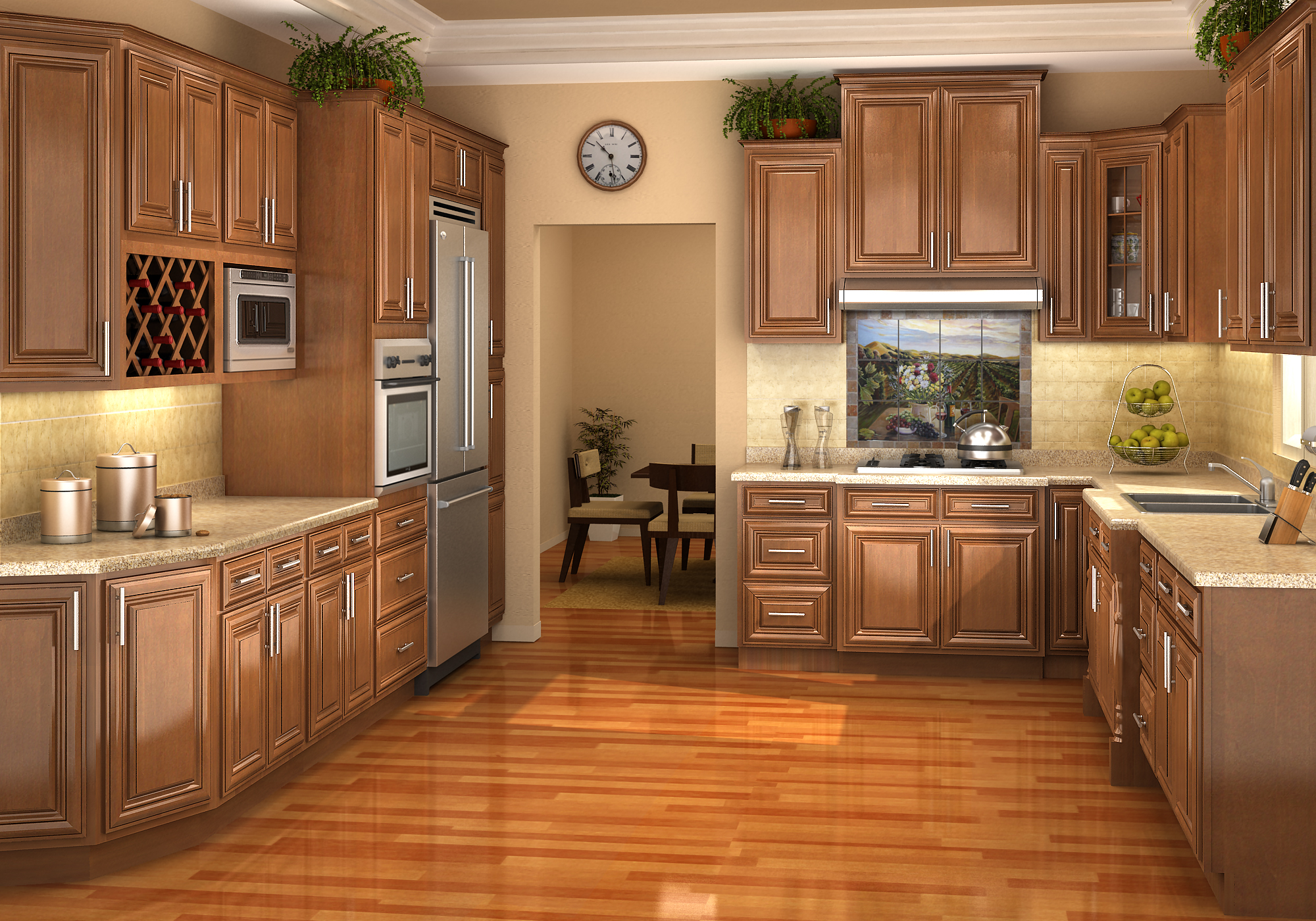 kitchen cabinet stains completed sink stove mica interior design construction kitchen cabinet