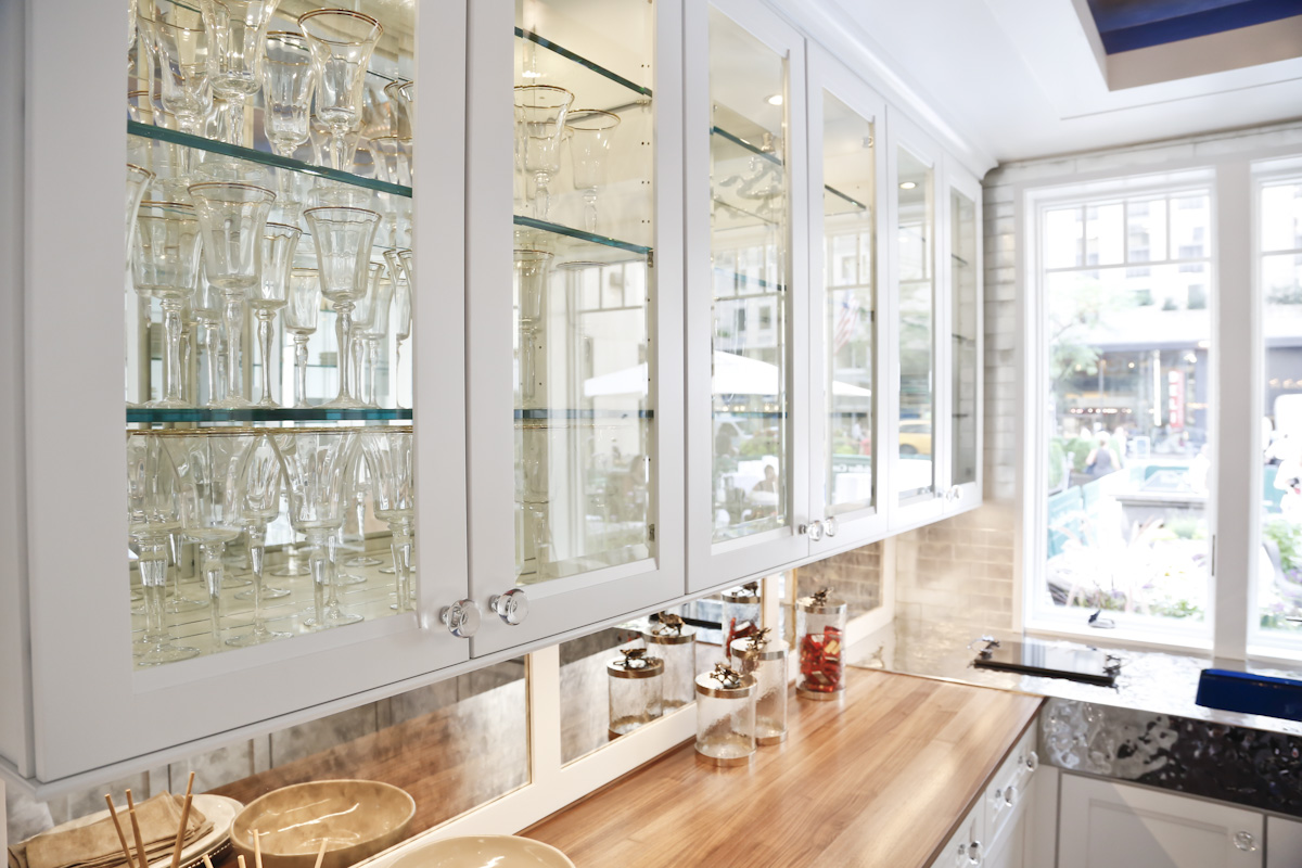 Kitchen Cabinet Textured Glass Glass For Kitchen Cabinet Doors Added With Neutral Nuance