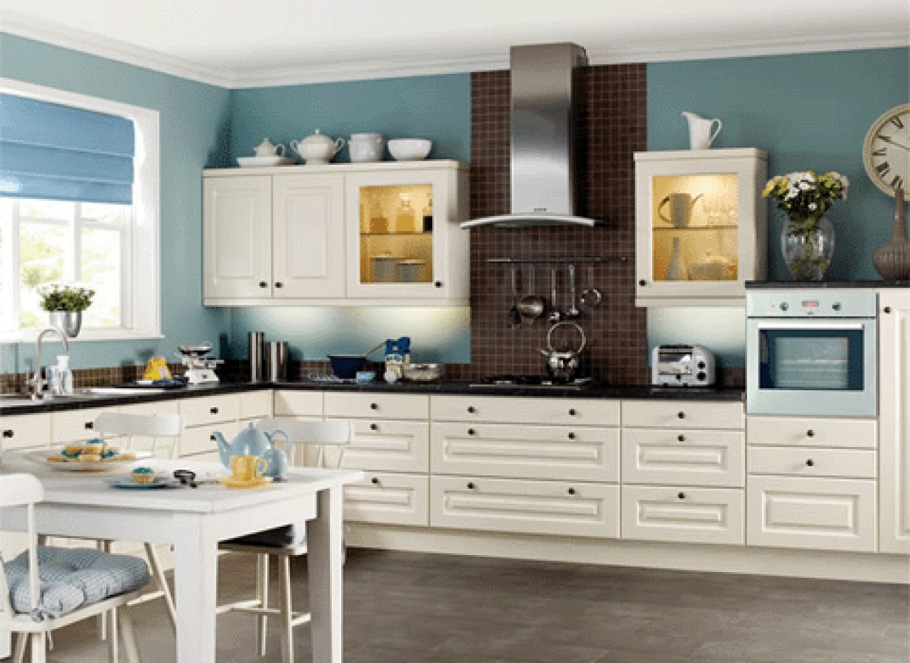 Painting Kitchen Cabinets Light Blue Light Kitchen Paint Colors With Oak Cabinets Strengthening