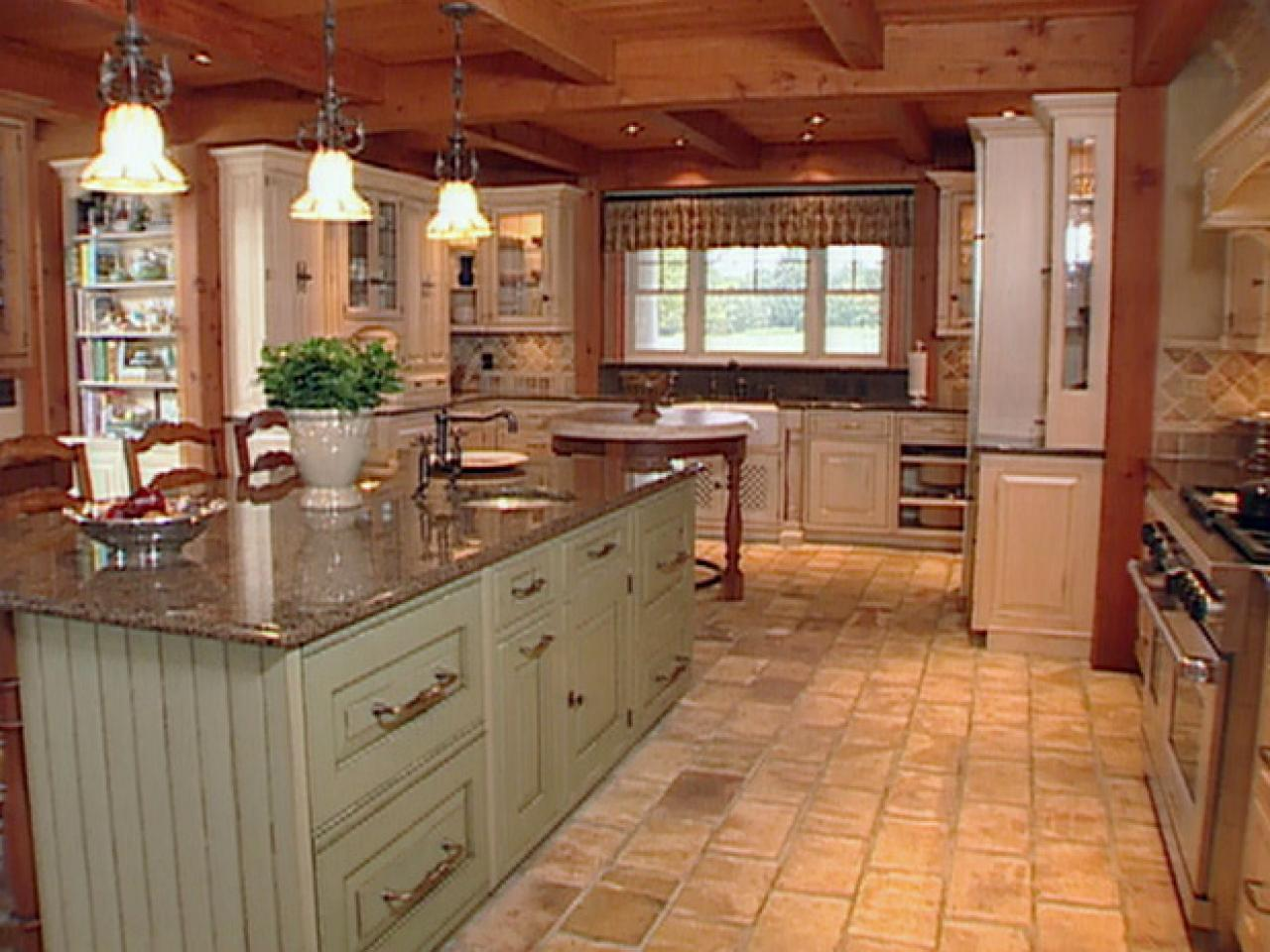 Farmhouse Kitchen Tile Floors Pictures Of Kitchen Design Ideas Remodel And Decor
