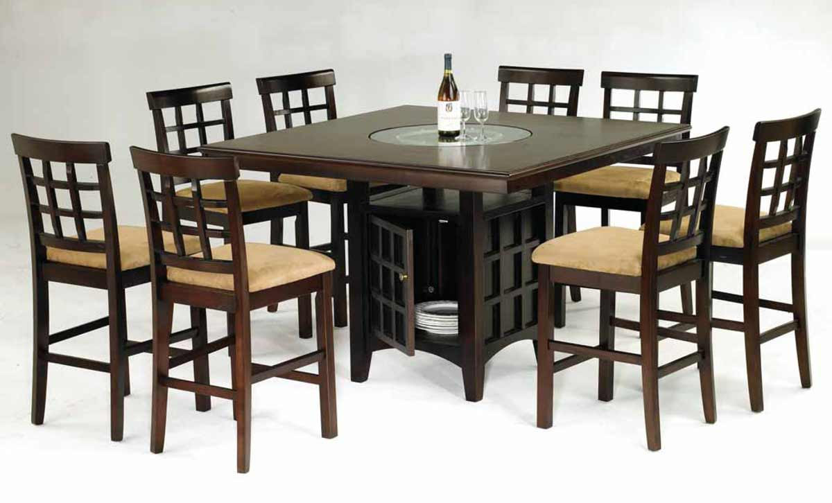 bar height kitchen table and chairs kitchen table height Bar height kitchen table and chairs Photo 10