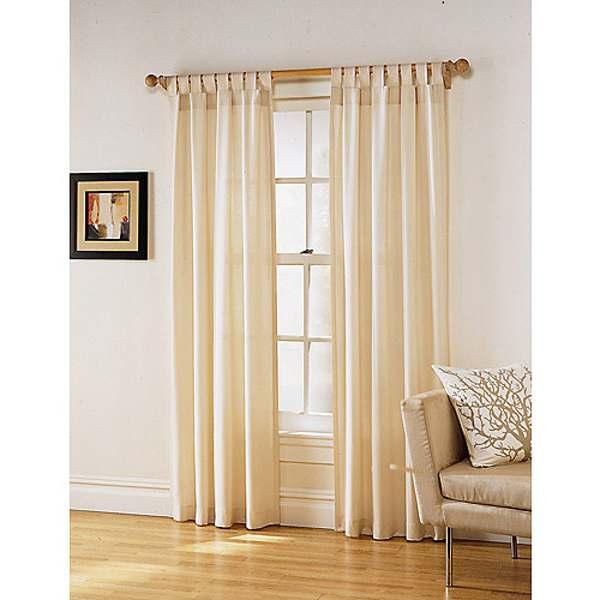 Curtains for kitchen door