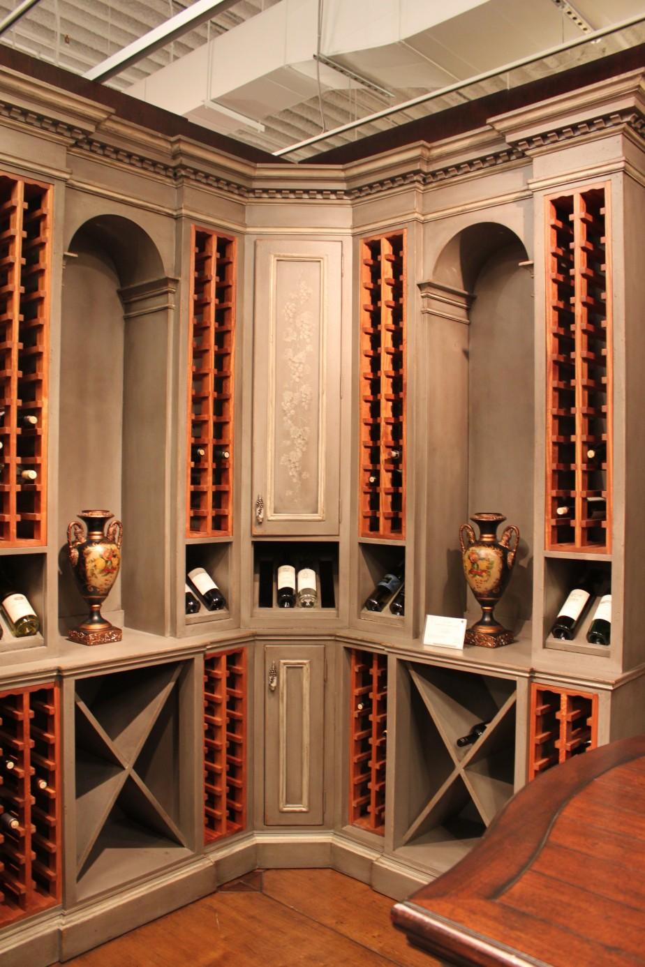 ... Cabinet Wine Rack Kitchen Ideas. Download