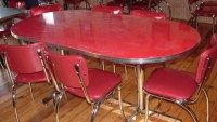Red kitchen table Photo - 9 | Kitchen ideas