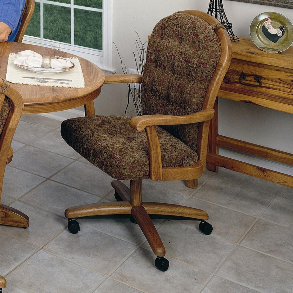 Swivel Kitchen Chairs With Casters Photo 7 Kitchen Ideas