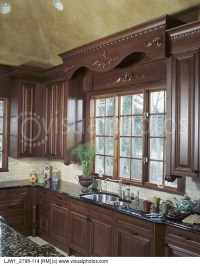 Window treatment for kitchen window over sink Photo - 3 ...