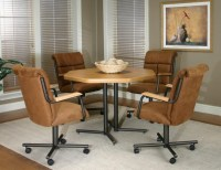 Kitchen table and chairs with casters | | Kitchen ideas