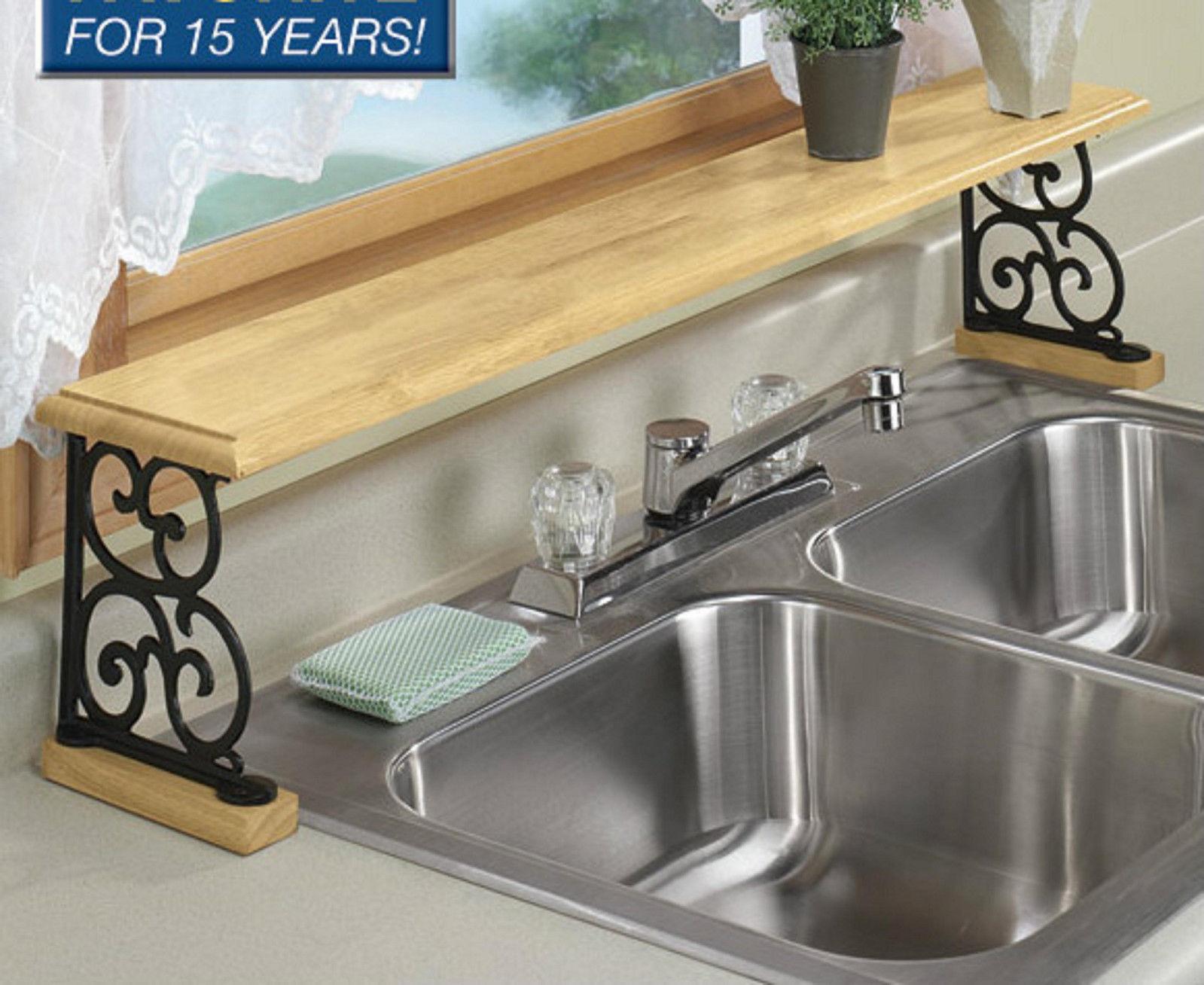 ... Over Sink Shelf Kitchen Photo 1. Download