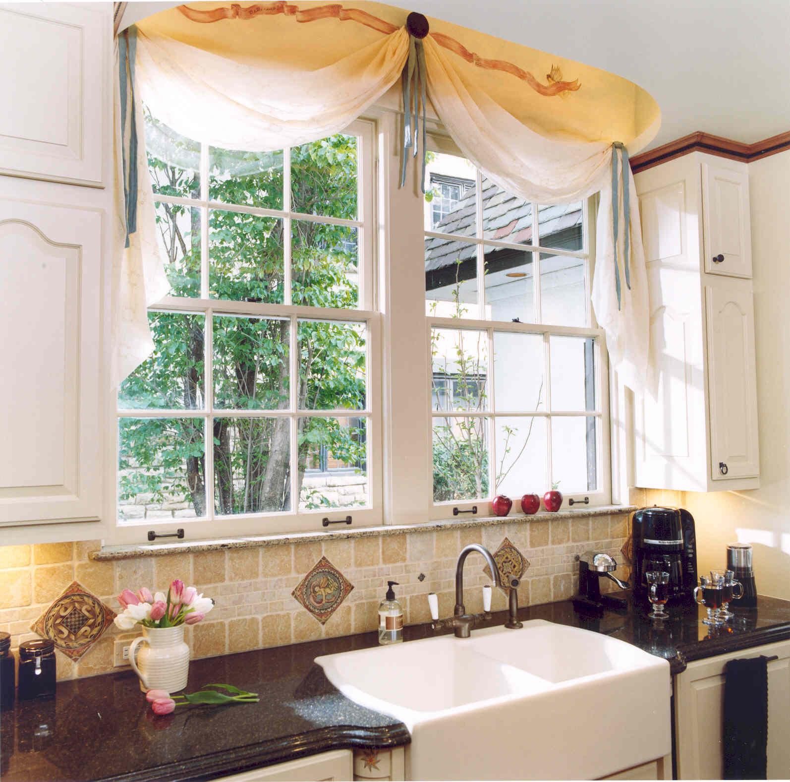 Spannende Fensterdeko Gardinen Ideen Erlene Window Treatments Window Treatment For Kitchen Window Over Sink Kitchen